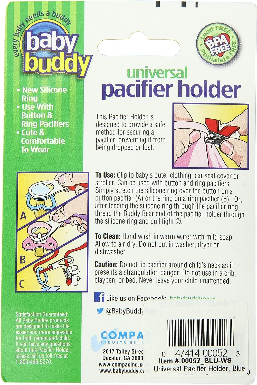 Beach Blanket Baby Buddy Universal Pacifier Holder