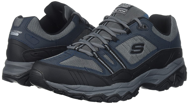 Skechers-Men-039-s-After-Burn-Memory-Fit-Strike-Off-Lace-Up-Sneaker thumbnail 40