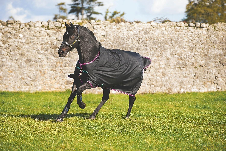 Horseware Amigo Turnout Hero 6 medium black purple