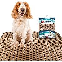 وسادة جرو كبيرة قابلة للغسل من سيمبل سوليوشن   وسادة قابلة لإعادة الاستخدام لتبول الكلاب   ماصة قابلة للتحكم في الرائحة…