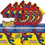 """Marvel Bpwfa-102""""Ultimate Spiderman"""" Set de table pour 16"""
