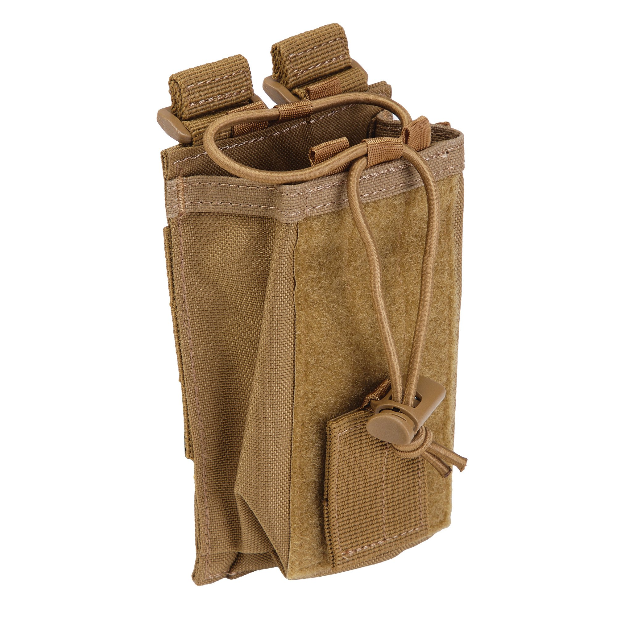 5.11 Radio Pouch Compatible with 5.11 Bags/Packs/Duffels, Style 58718, Flat Dark Earth by 5.11