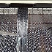 jarolift fliegengitter magnetvorhang f r t ren 160 x 230cm schwarz individuell k rzbar h he. Black Bedroom Furniture Sets. Home Design Ideas