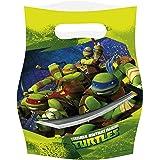 Amscan Teenage Mutant Ninja Turtles 6-Party Loot Bags
