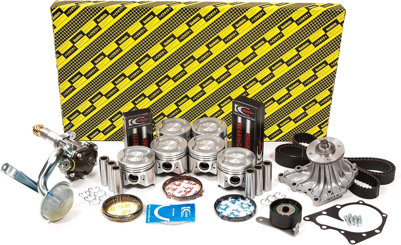 Exhaust /& Intake Engine Guides Valves Fits 86-92 Toyota L6 DOHC 24v