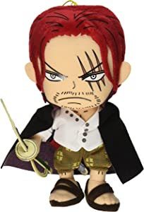 "Great Eastern GE-52723 One Piece Anime 8"" Shanks Stuffed Plush"