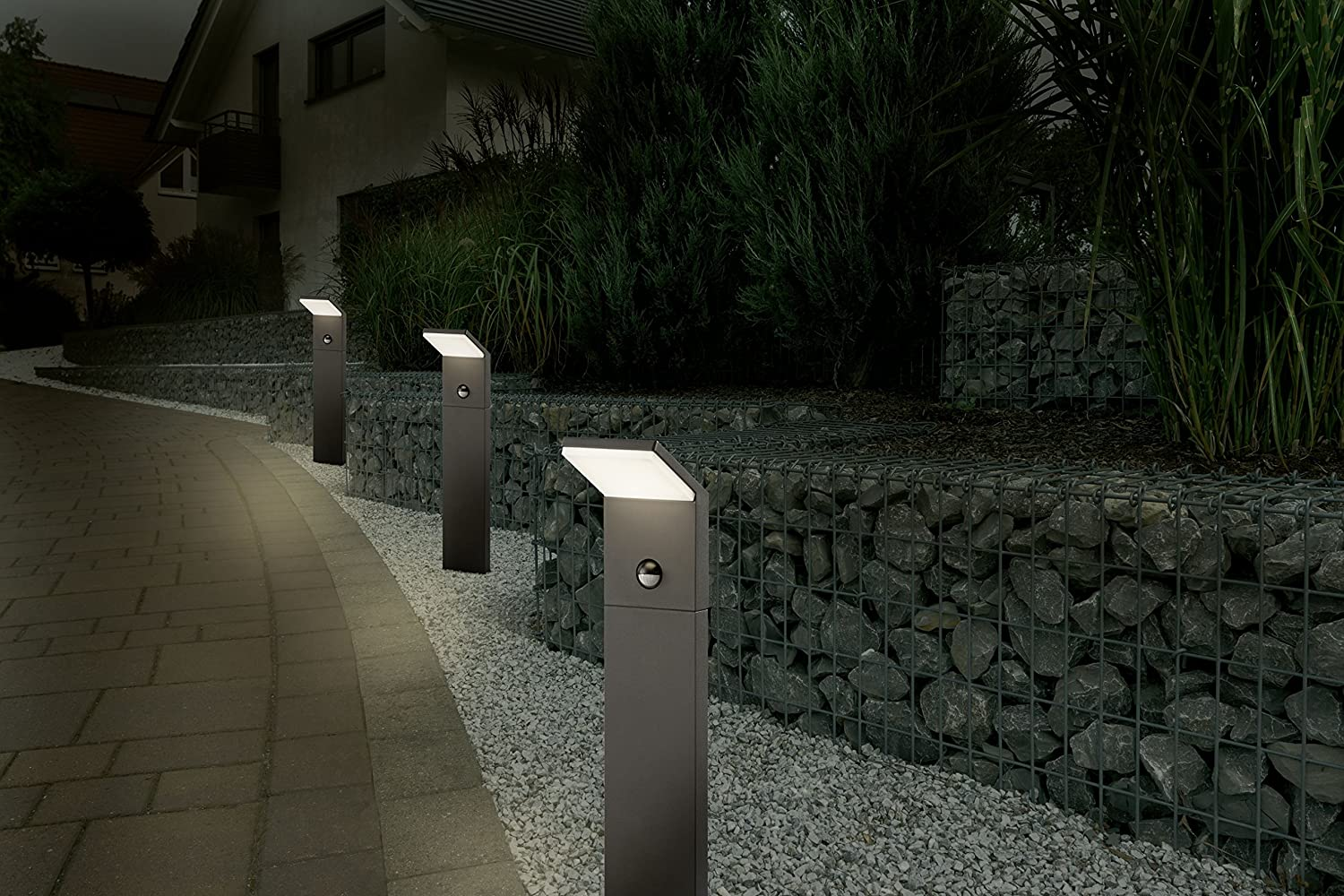 Trio leuchten 521169142 outdoor led pillar light pearl die trio leuchten 521169142 outdoor led pillar light pearl die cast aluminium anthracite amazon lighting parisarafo Gallery
