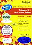 Study Set - Category 2 - Round 2 - Inter School Written Level - Prepare for MaRRS Spelling Bee competition exam .... For pre purchase queries whatsapp 9820354672