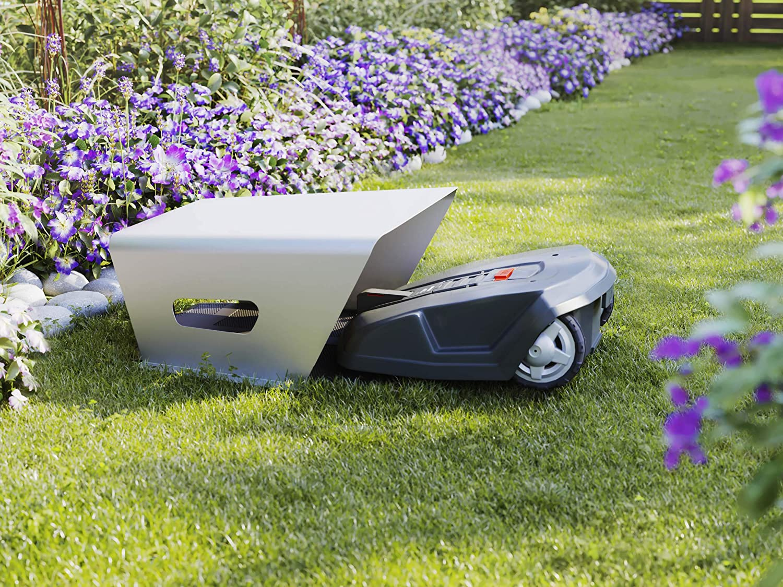 MOWHOUSE Robot de Césped Robot Cortacésped Protección de Garaje ...