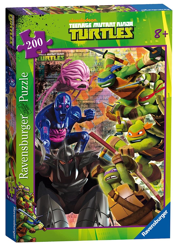 Tortugas Ninja Rompecabezas de 200 Piezas: Amazon.es ...