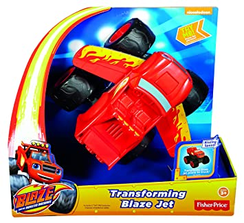 Blaze y los Monster Machines - Turbo transformación Fisher-Price (Mattel DTB72): Amazon.es: Juguetes y juegos
