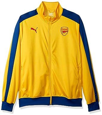 6a07ab09f7 PUMA Men s Arsenal Fc T7 Jacket at Amazon Men s Clothing store
