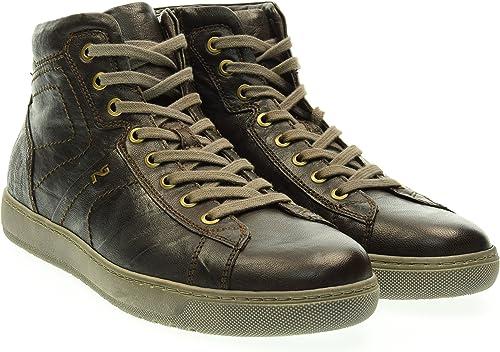 scarpe uomo nero giardini sneakers a604360u