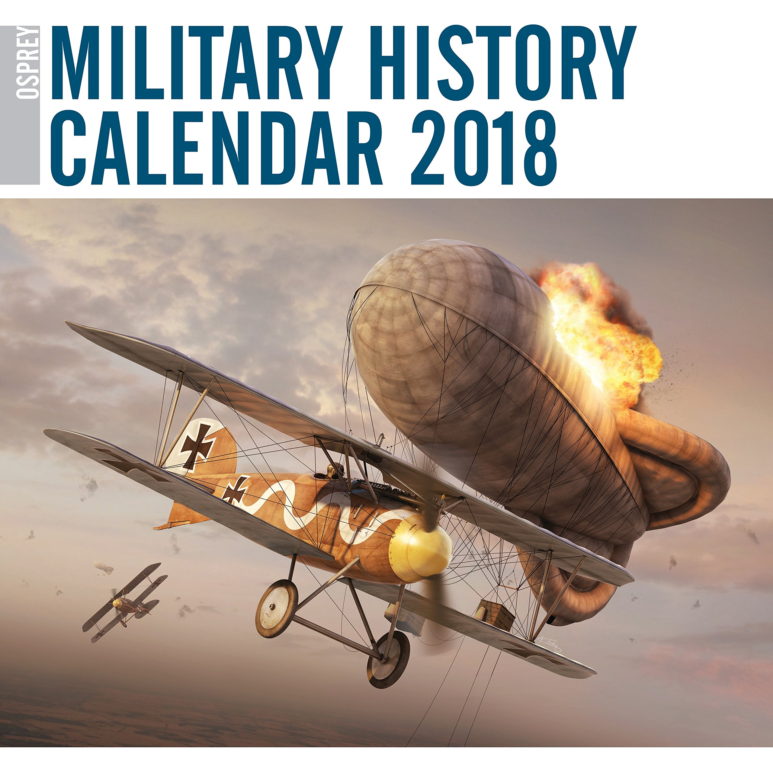 Buy Osprey Military History Calendar 2018 Book Online at Low
