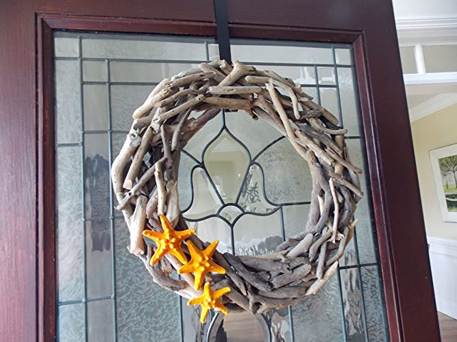 coastal wreath door wreaths doors wayfair keyword driftwood starfish beach