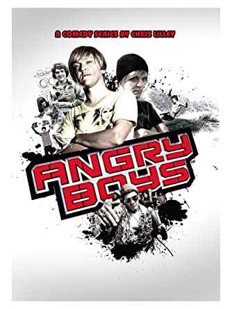 CHRIS LILLEY S.MOUSE SIGNED PHOTO PRINT   ANGRY BOYS