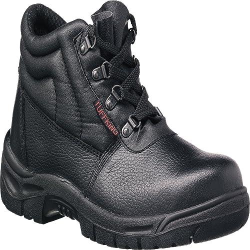 Tuffking 9038 S1P negro botas de puntera de acero botas de seguridad botas de trabajo Calzado