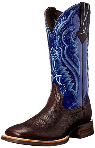 Amazon.com | Ariat Men's Fast Time Western Cowboy Boot | Western