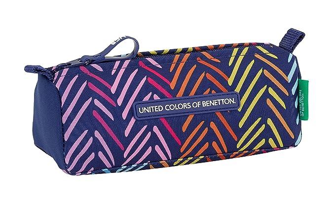 Benetton- Portatodo, Color Azul Marino, 21 cm (811850742)
