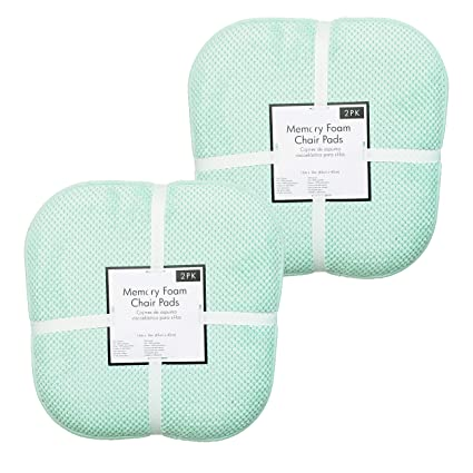 Amazon.com: Soft Chair Pads Cushions with Non-Skid Backing ...