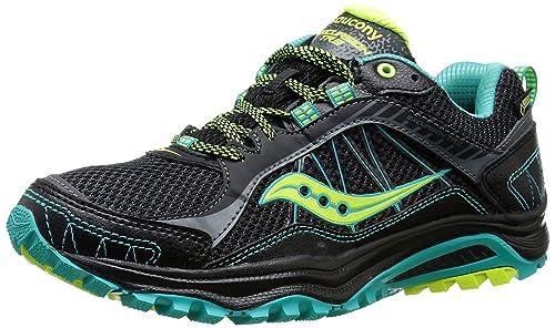 Saucony Excursion TR9 GORE-TEX Womens Zapatillas Para Correr - SS16, Black/Teal
