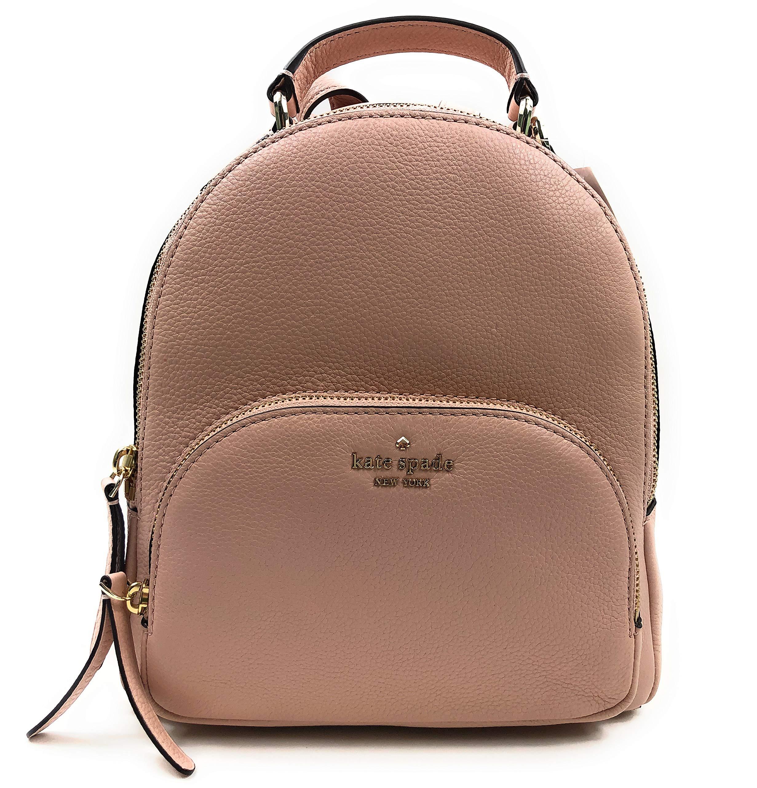 Kate Spade New York Jackson Medium Backpack Pebbled Leather Warmvellum
