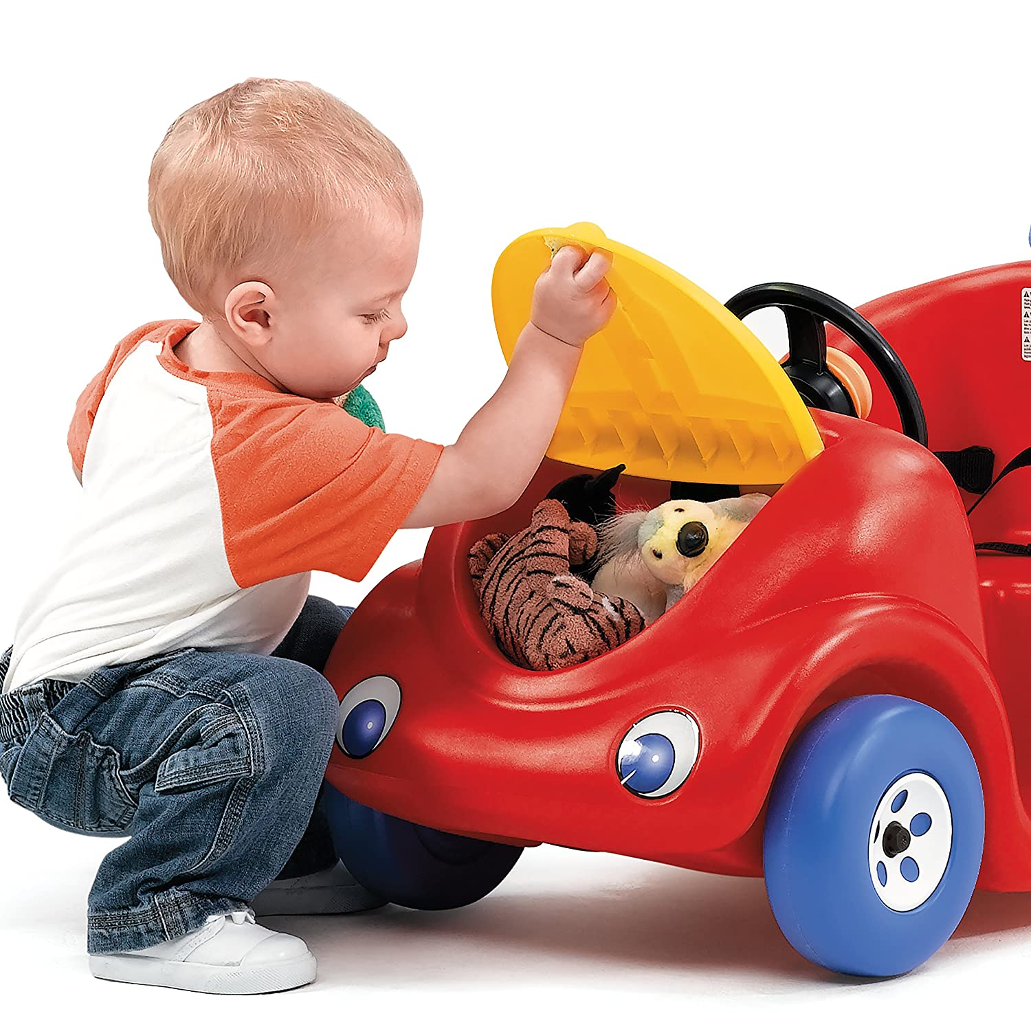 Amazon Step2 Push Around Buggy Ride Red Toys & Games