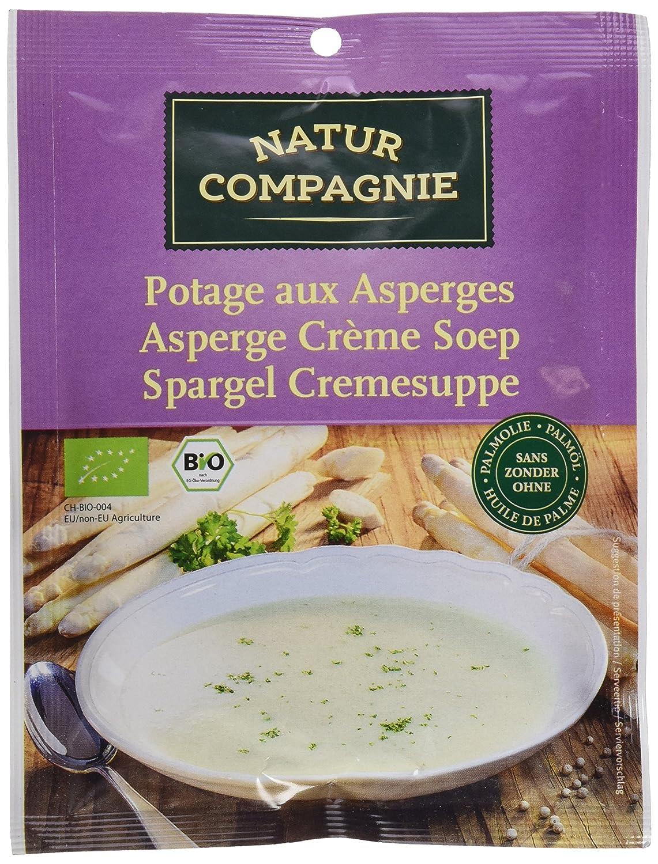 Natur Compagnie Crema de Espárragos Bio - 40 gr - [pack de 6]: Amazon.es: Alimentación y bebidas