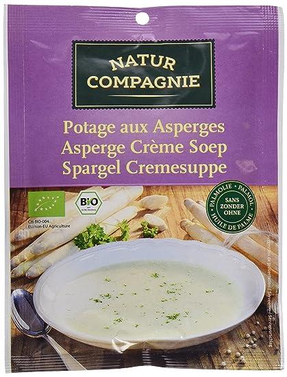 Natur Compagnie Crema de Espárragos Bio - 40 gr - [pack de 12]