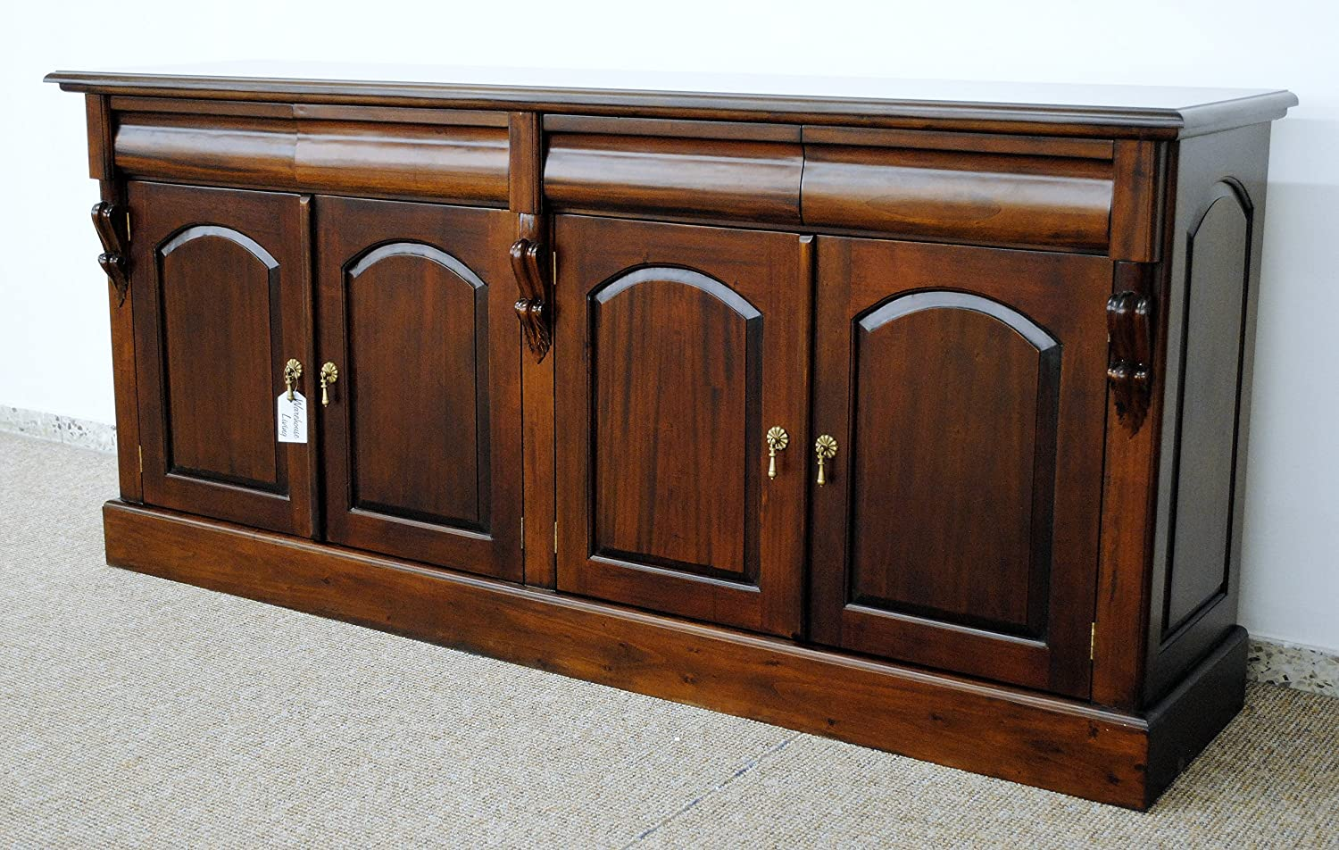 Traumhaftes Buffet Victorian Style Sideboard Mahagoni BF-04