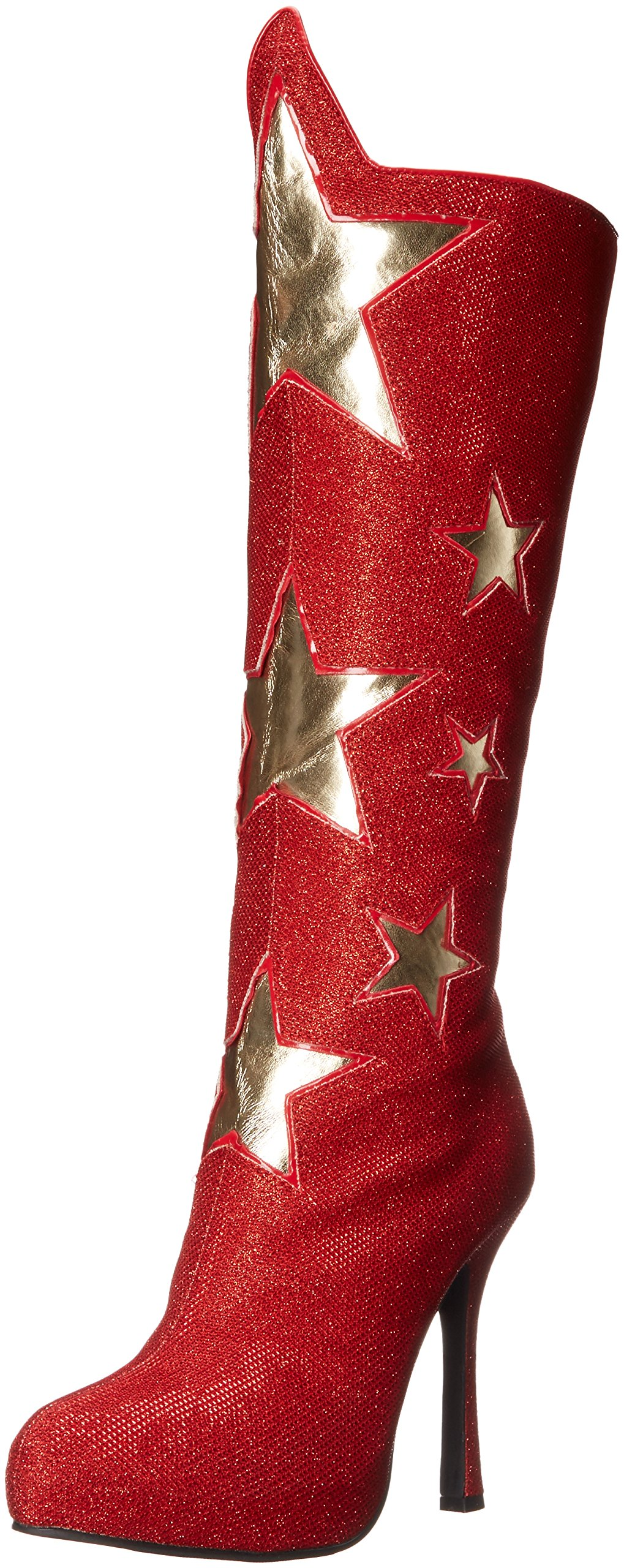 Ellie Shoes Women's 420-Hero Boot, Red, 9 M US