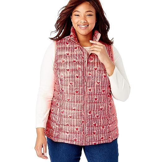 c418b48916 Woman Within Women's Plus Size Packable Puffer Vest