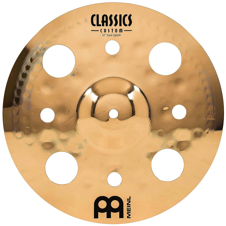 Meinl Cymbals CC12TRS-B Classics Custom 12-Inch Brilliant Trash Splash (VIDEO) Meinl USA L.C.