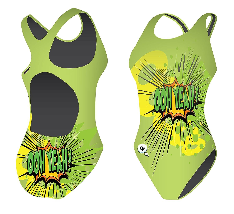 Diapolo Ooh Yeah Badeanzug aus der Fun Kollektion für Schwimmen Synchronschwimmen Wasserball Thriathlon