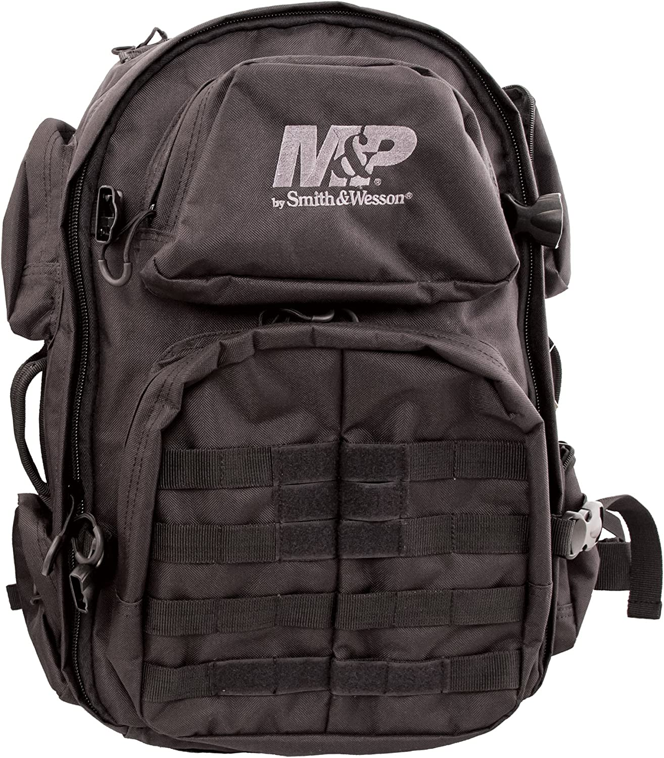 Smith Wesson M P Pro Tac Large Backpack with Weather Resistance, Ballistic Fabric Construction and MOLLE for Hunting, Range, Travel and Sport