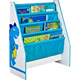 Worlds Apart Dinosaurs Kids Sling Bookcase - Bedroom Storage by HelloHome