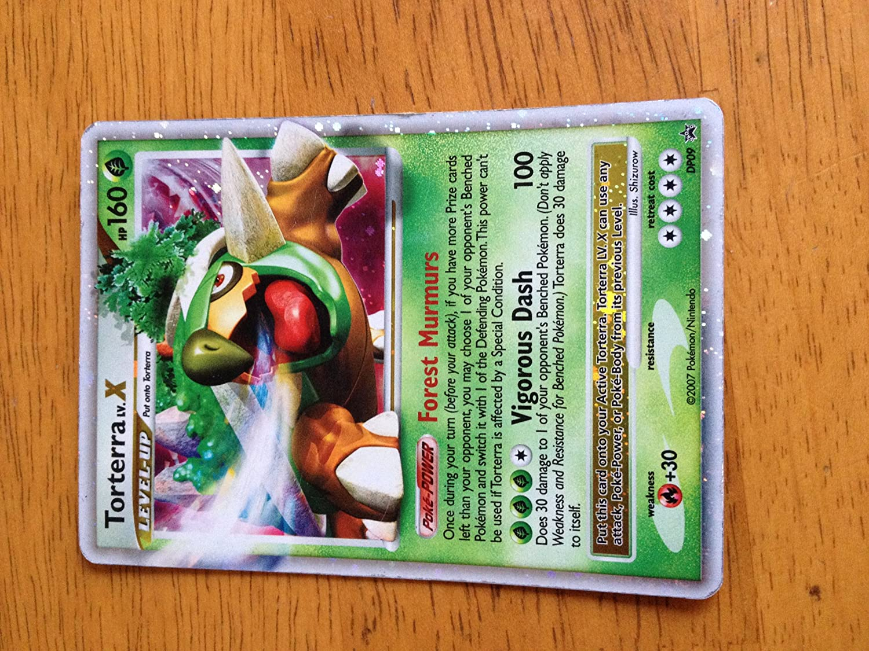 Pokemon Promo Card Holofoil Torterra Level X DP09 [Toy]
