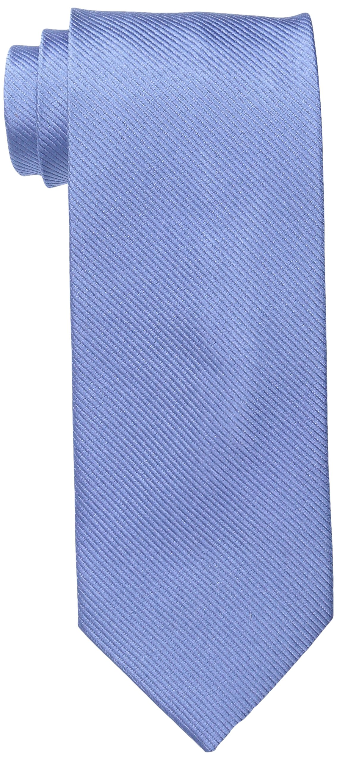 Bruno Piattelli Men's Tall-Plus-Size Extra Long Solid Silk Tie, Powder Blue, One Size