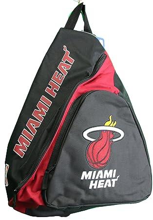 Miami Heat de la NBA Slingback mochila, rojo, 21,6 cm: Amazon.es: Deportes y aire libre