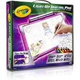 Crayola Light-up Tracing Pad Pink, Coloring Board for Kids, Gift, Toys for Girls, Ages 6, 7, 8, 9,10