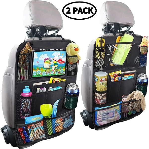 Internets Best Seat Back Storage Organizer Multi Pocket Travel Storage Bag Backseat Toy Storage