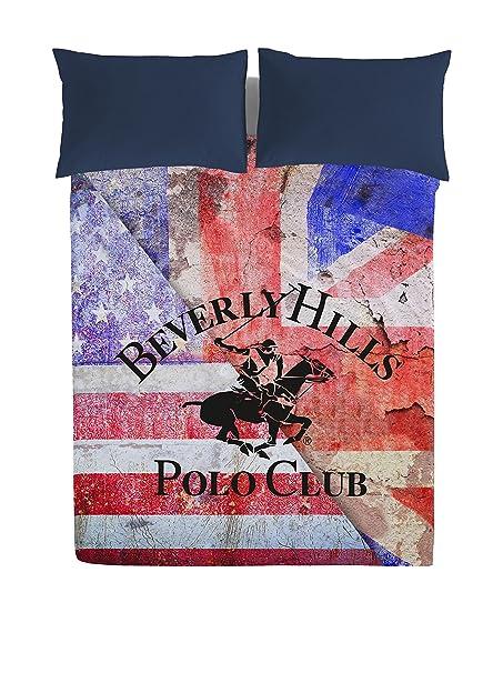 Beverly Hills Polo Club Juego De Sábanas Baltimore: Amazon.es: Hogar