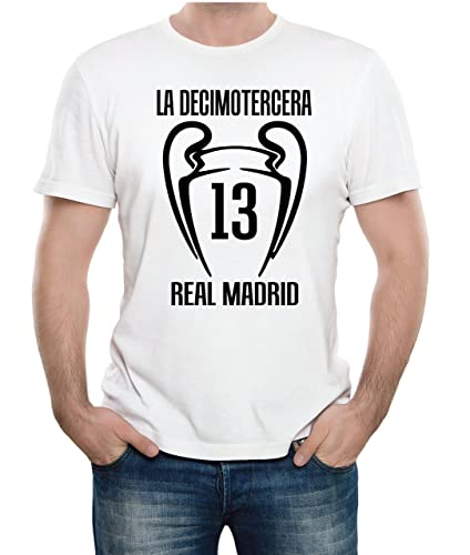 Real Madrid 2018 camiseta de campeón de Europa Real Madrid - Liverpool Kiev 2018 Champions League