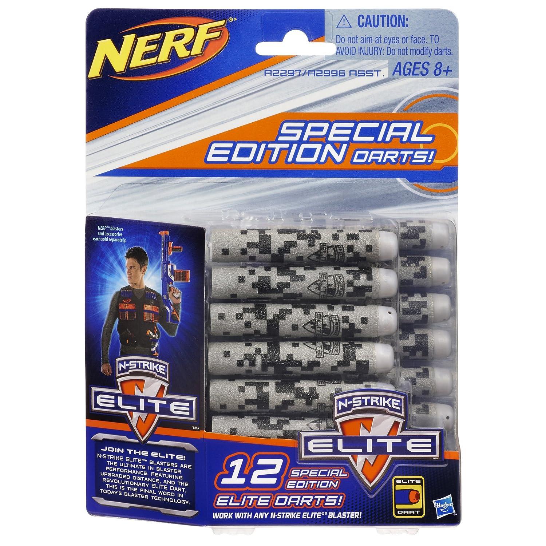 Amazon Nerf N Strike Elite 12 Special Edition Elite Darts Pack Grey Toys & Games