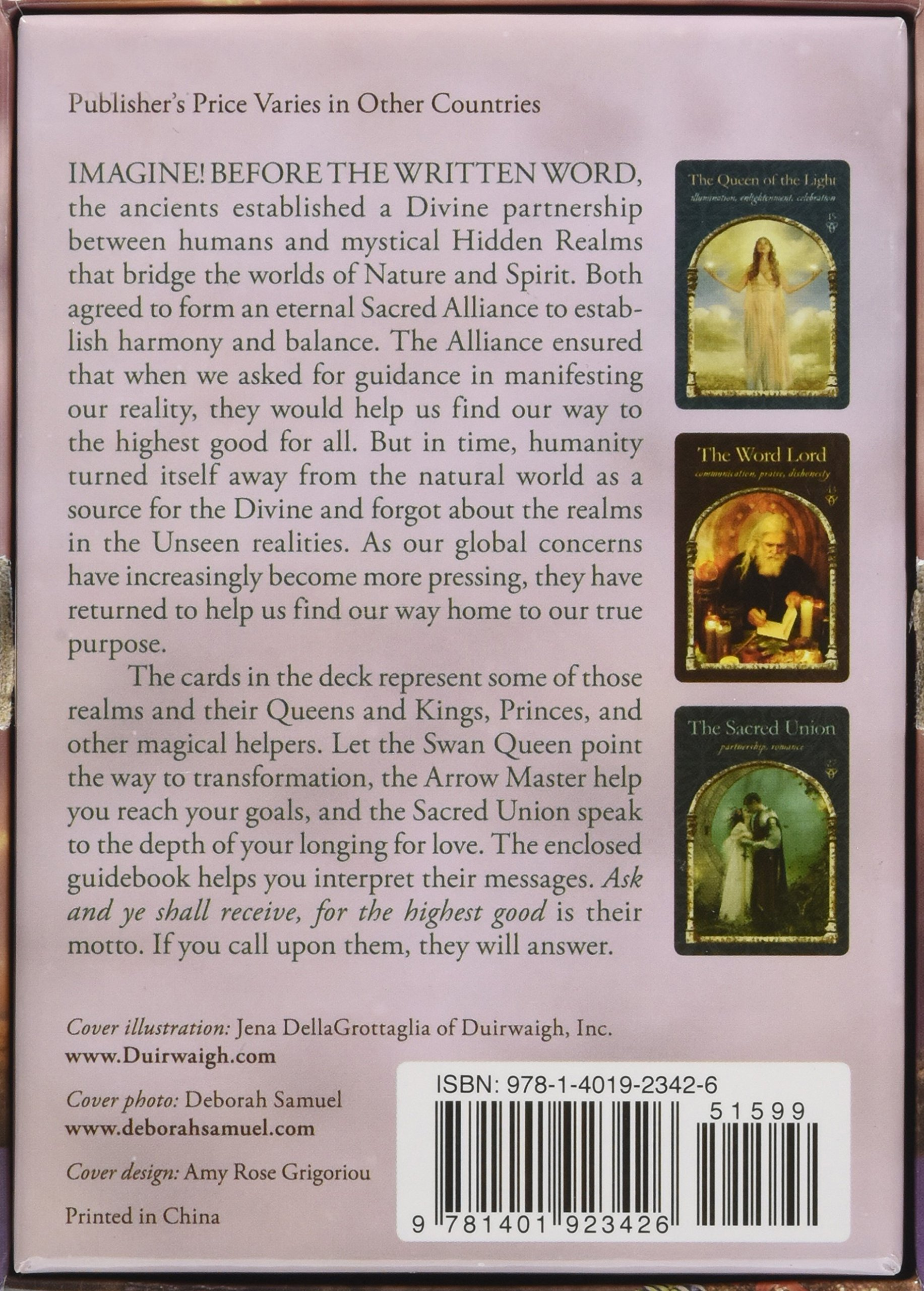Wisdom Of The Hidden Realms Oracle Cards A 44 Card Deck And