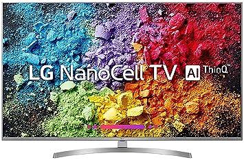 LG 123 cm (49 Inches) 4K Ultra HD Smart NanoCell TV 49UK7500PTA (Silver) (2018 model)