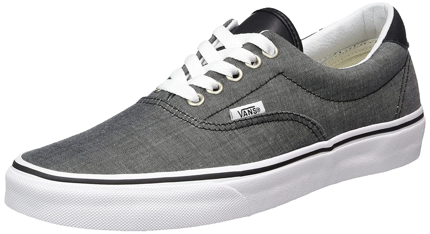 Vans Unisex Era 59 Skate Shoes B01I4B247S 10.5 M US Women / 9 M US Men|Chambray/Black