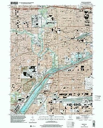 Amazoncom Berwyn IL topo map 124000 scale 75 X 75 Minute