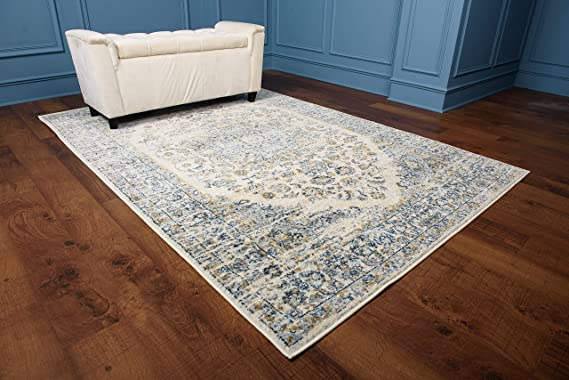 Amazon.com: Golden Rugs Persian Area Rug 5x7 Traditional ...