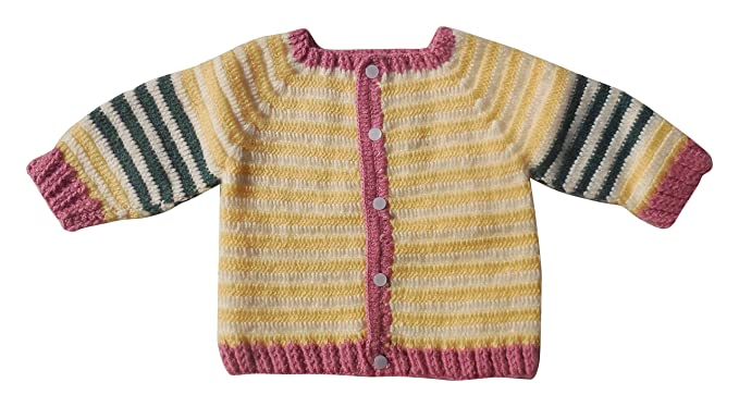 Sr Handicrafts Baby Boys Wool Sweater Sh060 6 12 Months Multi